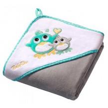 Luxusní osuška Baby Ono - VELUR s kapucí
