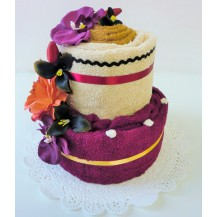 Textilní dort 2- RR dvoupatrový Veratex