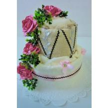 Textilní dort 2- SS dvoupatrový Veratex
