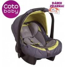 Autosedačka 0-10kg Coto Baby Latina - zelená