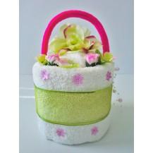 Textilní dort jednopatrový K33