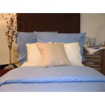 Bavlněné povlečení francie  2x70x90 + 220x200 cm (sv.modré)