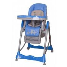 Jídelní židlička COTO BABY Mambo Blue - SLONÍCI Coto baby