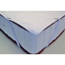 Matracový chránič  120x200 (bílý prošívaný)