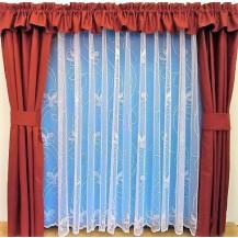 Záclona Řetízek výška 110 cm (bílá)