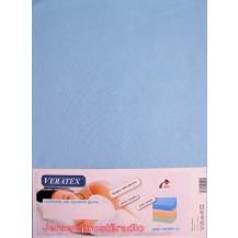 Jersey prostěradlo 180x200/20 cm (č.21-sv.modrá)