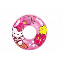 Nafukovací kruh Hello Kitty, 97 cm
