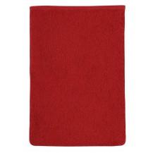 Froté žínka 17x25 červená Brotex