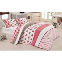 Přehoz přes postel jednolůžkový Gardena růžová Brotex