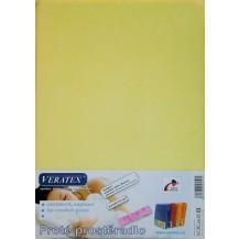 Froté prostěradlo 130x200 cm (č. 5-sv.žlutá) Veratex