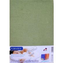 Froté prostěradlo 130x200 cm (č.12-stř.zelená) Veratex
