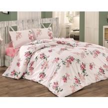 Přehoz přes postel dvojlůžkový Monica růžová Brotex