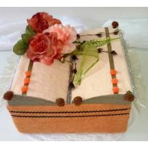 Textilní dort 7- K kniha