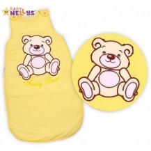 Spací vak Medvídek TEDDY - žlutý/krémový vel. 1 TERJAN