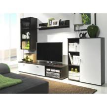 Obývací stěna Diplo milano/bílá