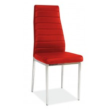 Jídelní židle H-261 červená FALCO