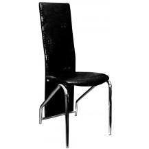 Jídelní židle F-131 černá lesk FALCO