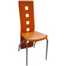 Jídelní židle F-131 oranžová FALCO