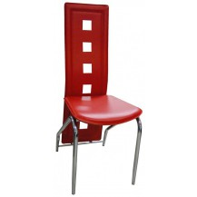 Jídelní židle F-131 červená FALCO