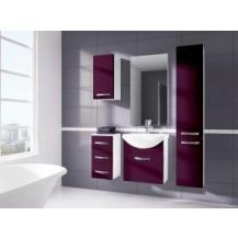 Koupelnová sestava Koral-fialová FALCO - doprava zdarma