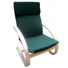 Relaxační křeslo zelené FALCO