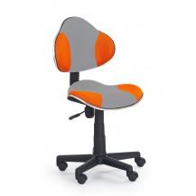 Židle QZY-G2 šedo oranžová