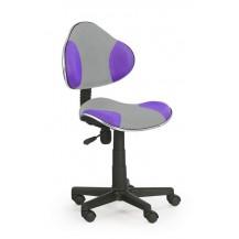 Židle OZY-G2- šedo fialová FALCO