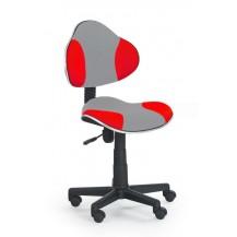 Židle QZY-G2 šedo červená FALCO