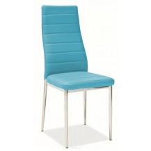 Jídelní židle H-261 modrá light FALCO