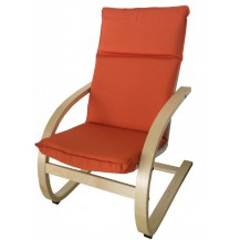 Dětské relaxační křeslo oranžové