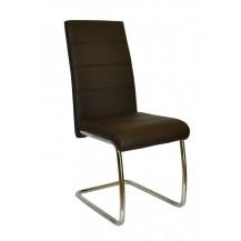 Jídelní židle Y 100 hnědá