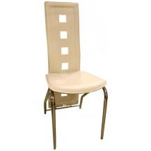 Jídelní židle F-131 bílá káva FALCO