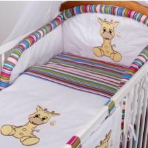 Luxusní povlečení Baby Dreams - SAFARI - ŽIRAFA Baby Nellys