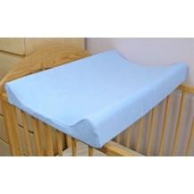 Jersey potah na přebalovací podložku modrý