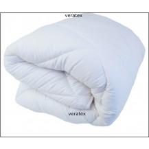 Luxusní prošívaná přikrývka prodloužená (135x220 ) bílá (letní)