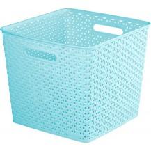 MY STYLE SQR box - modrý