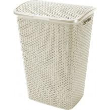 MY STYLE 55L koš na prádlo - krémový