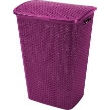MY STYLE 55L koš na prádlo - fialový