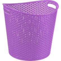 MY STYLE 30L koš na prádlo - fialový