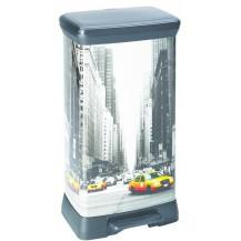 DECOBIN 50L odpadkový koš - NEW YORK