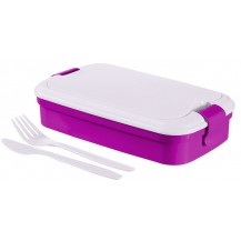 LUNCH & GO box - fialový