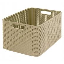 STYLE box - L -  kávový