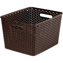 MY STYLE box - L - tm. hnědý