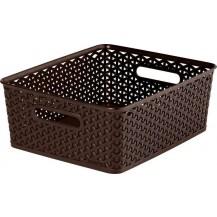 MY STYLE box - M - tm. hnědý
