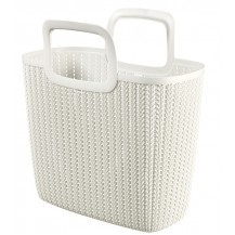 Nákupní taška KNIT - krémová