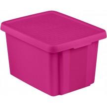 ESSENTIALS box 26L - fialový
