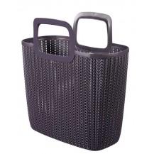 Nákupní taška KNIT -fialová