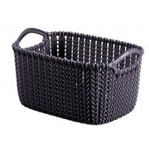 Košík KNIT 3L -fialový