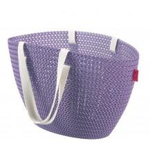 EMILY KNIT bag - fialová