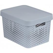 INFINITY DOTS box 17L - bílý